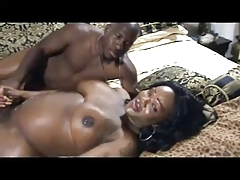 Black T-Girl Gets Some Dick