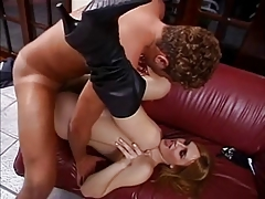 Redhead Shemale Get Oral & Anal Pleasure,By Blondelover.