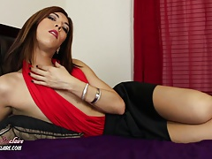 Shemale Cum Domination: Pleasuring Kendra Sinclaire
