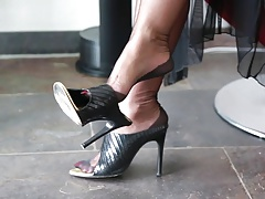Lady Barbara the fetish women in high heels