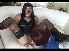 Two CD sucking & cumming